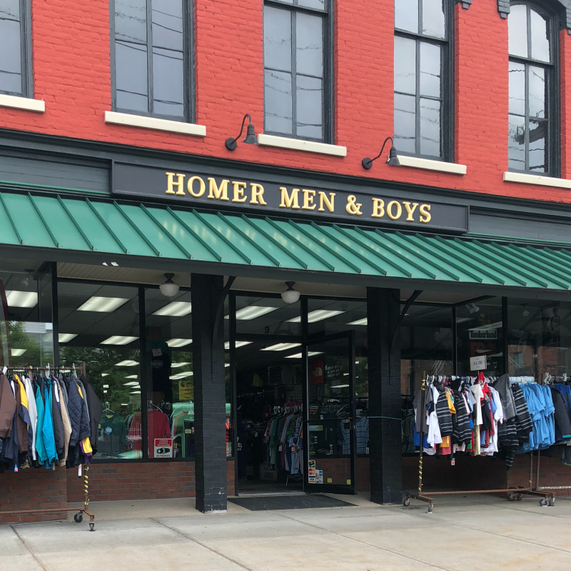 Homer Men and Boys Store